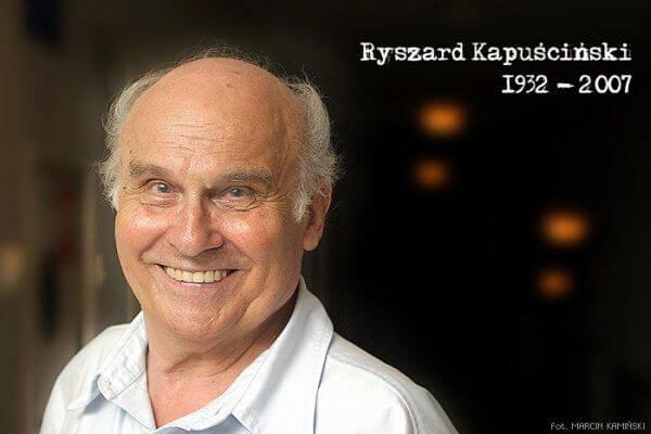 Ryszard KAPUSCINSKI, dziennikarz, reportazysta, publicysta