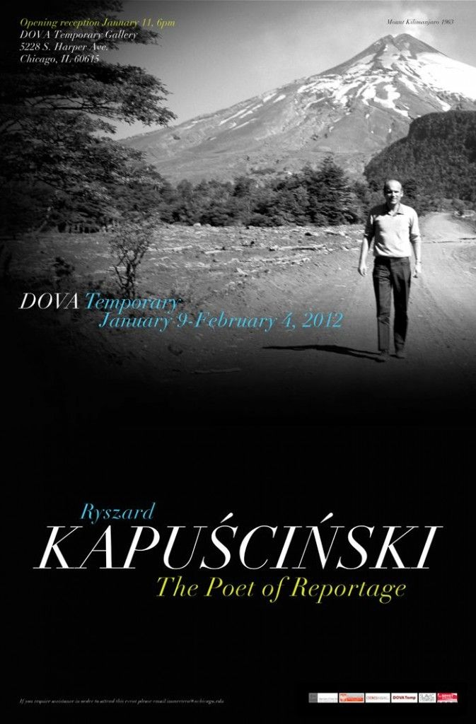 Chicago: 9 stycznia – 4 luty Wystawa Kapuściński Poeta Reportażu