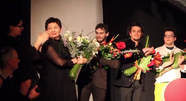 """Relacja filmowa z premiery """"Epitafium dla władzy"""" Teatru Gdynia Główna"""